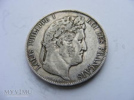5 FRANKÓW - 1844 W