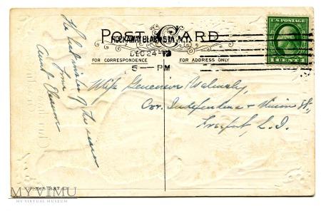 1913 Odwiedziny Świętego Mikołaja USA