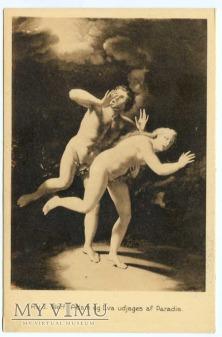 Adriaen van der Werff - Wygnanie z raju