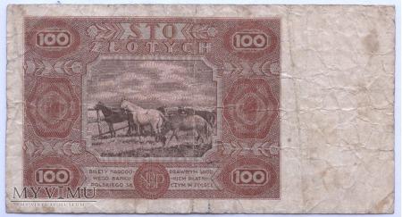 100 złotych - 1947.