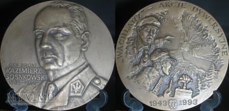 Duże zdjęcie 088. Generał broni Kazimierz Sosnkowski