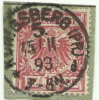 10 pfennig Królewiec 1893 r.