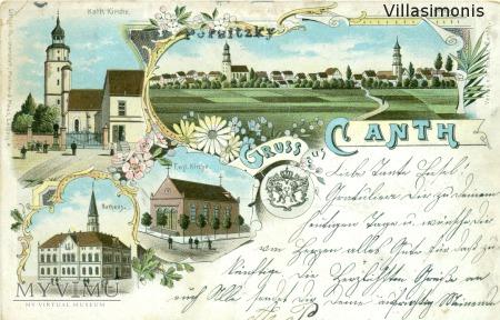 Duże zdjęcie Litografia barwna z 1901 roku
