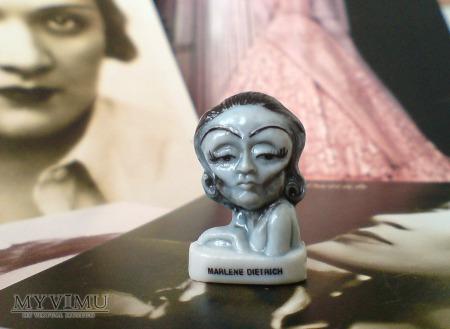 Marlene Dietrich fève Les Vedettes de Cinéma