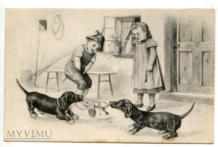 Dachshund - Jamnik przyjacielem dzieci?