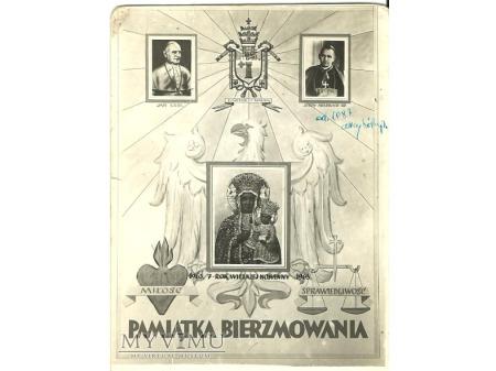Pamiątka bierzmowania 1963