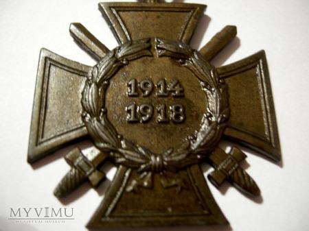 Krzyż kombatancki 1914/1918