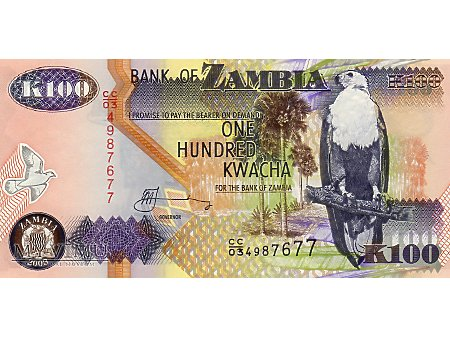 100 Kwacha 2003 r.