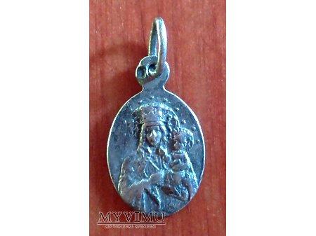 Srebrny medalik z Jasnej Góry