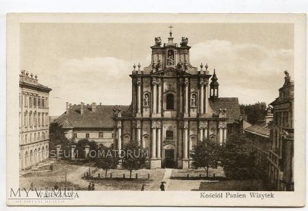 W-wa - Kościół Wizytek - 1915 ok.