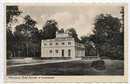 Warszawa - Łazienki - Biały Domek - 1920/1930