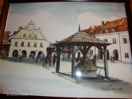 akwarela Kazimierz Dolny