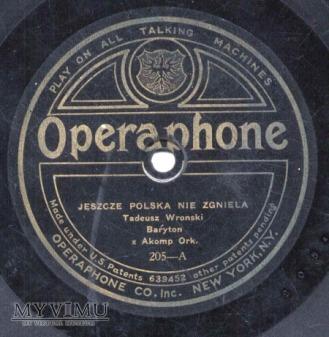 Duże zdjęcie Hymn na Operaphone