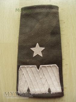 Pochewki z oznakami stopnia - generał brygady
