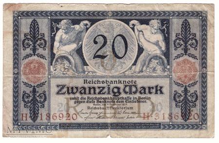 Niemcy, 20 marek 1915r.