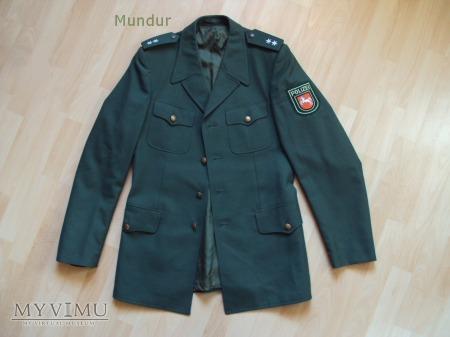 Polizei Niedersachsen - mundur służbowy