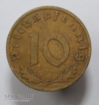 10 pfennigów 1939