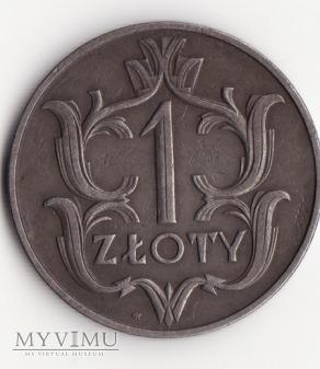 1 złoty 1929 II Rzeczpospolita (II RP)