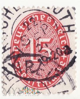 Deutsches Reich - Dienstmarken 15-12-8