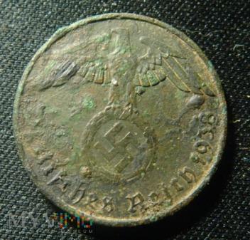 2 pfennig 1938 III Rzesza