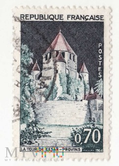 1964 Provins - The Tower of Caesar FRANCJA