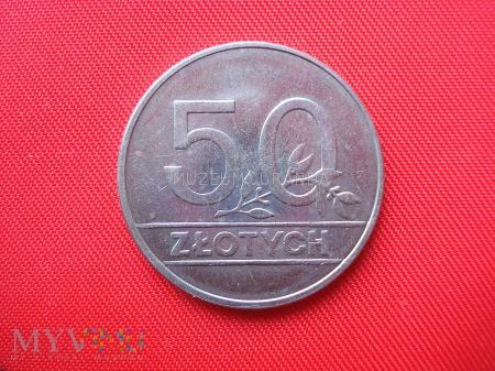 50 złotych 1990 rok