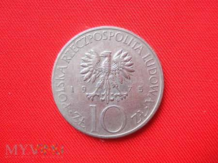 10 złotych 1975 rok (Adam Mickiewicz)