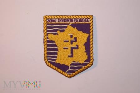 Naszywka 2eme Division Blindee