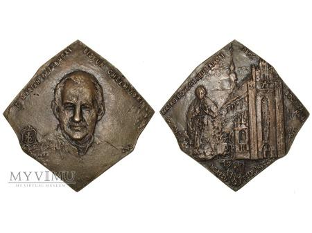 Biskup Marian Przykucki ingres medal brązowy 1981