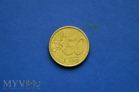 Moneta: 50 euro cent NIEMCY