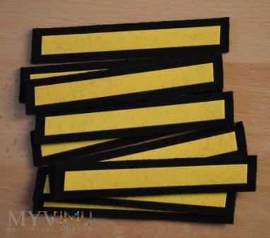 Dystynkcje do munduru wyjściowego MW - st.marynarz