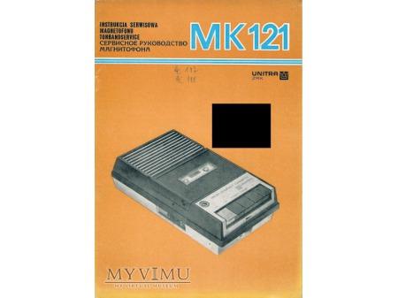 Instrukcja serwisowa magnetofonu MK-121