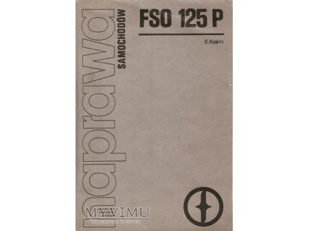 NAPRAWA samochodów FSO 125 P