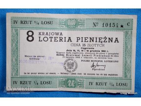 8 Krajowa Loteria Pieniężna