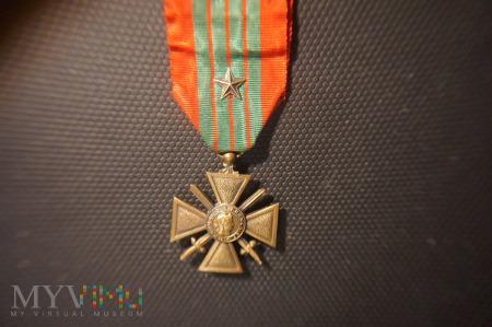 Francuski Krzyż Wojenny 1914-1918 z Gwiazdą