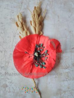 WHW Kwiat maku i kłosy zbóż