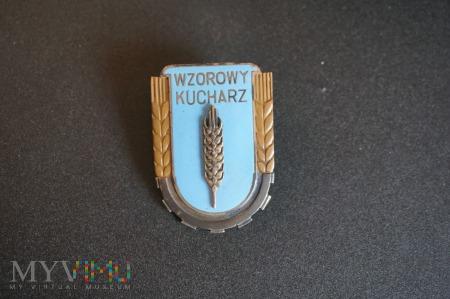 Odznaka Wzorowy Kucharz - wzór z 1951r
