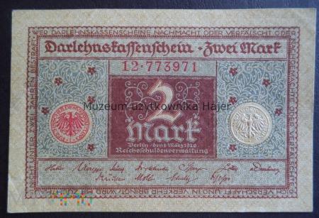 Niemcy - 1920 rok - 2 marki
