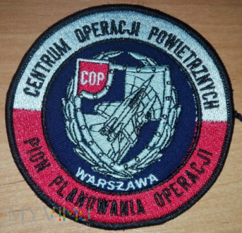 Duże zdjęcie Centrum Operacji Powietrznych - Pion Planowania