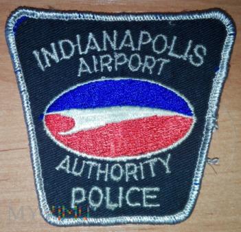 Indianapolis airport policja