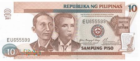 Filipiny - 10 pesos (2001)