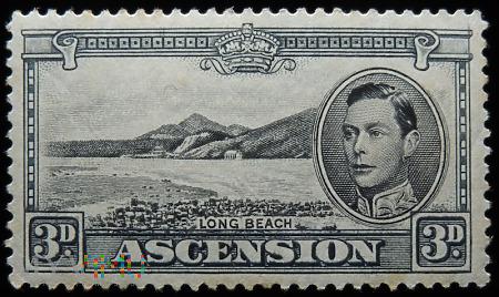 Wyspa Wniebowstąpienia Ascension 3d Jerzy VI