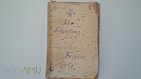 List Otto do żony - Rastilo 1941