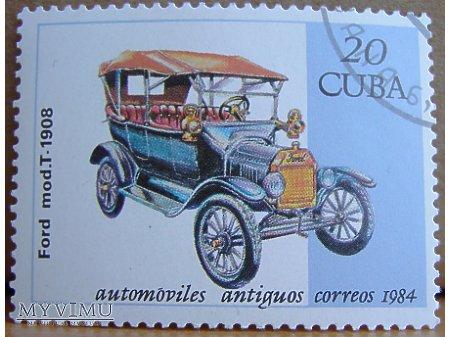 Ford mod. T 1908 znaczek