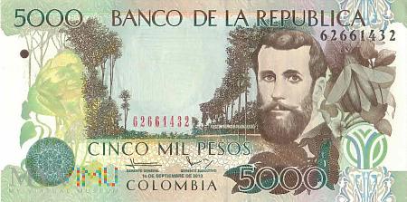 Duże zdjęcie Kolumbia - 5 000 pesos (2013)