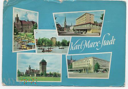 Chemnitz (w latach 1953–1990 Karl-Marx-Stadt.a