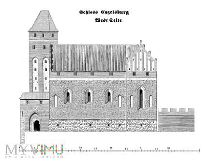 Duże zdjęcie Pierwsze murowane zamki konwentualne. Pokrzywno