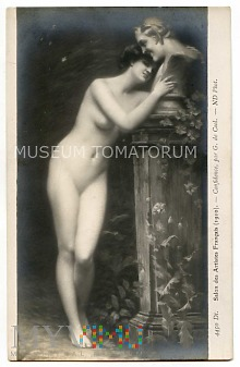 Quo Vadis - Eunice całuje posąg - inspiracja