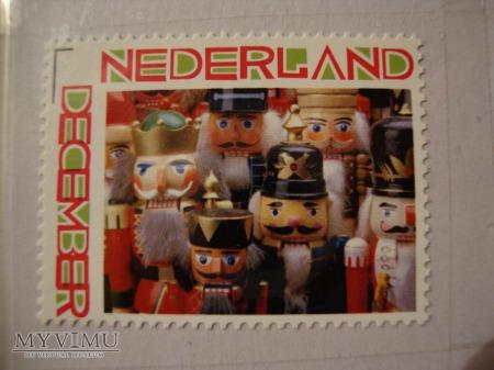 Dziadek do orzech znaczek personalizowany HOLANDIA