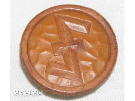 Odznaka WHW 1/2 Luty 1936